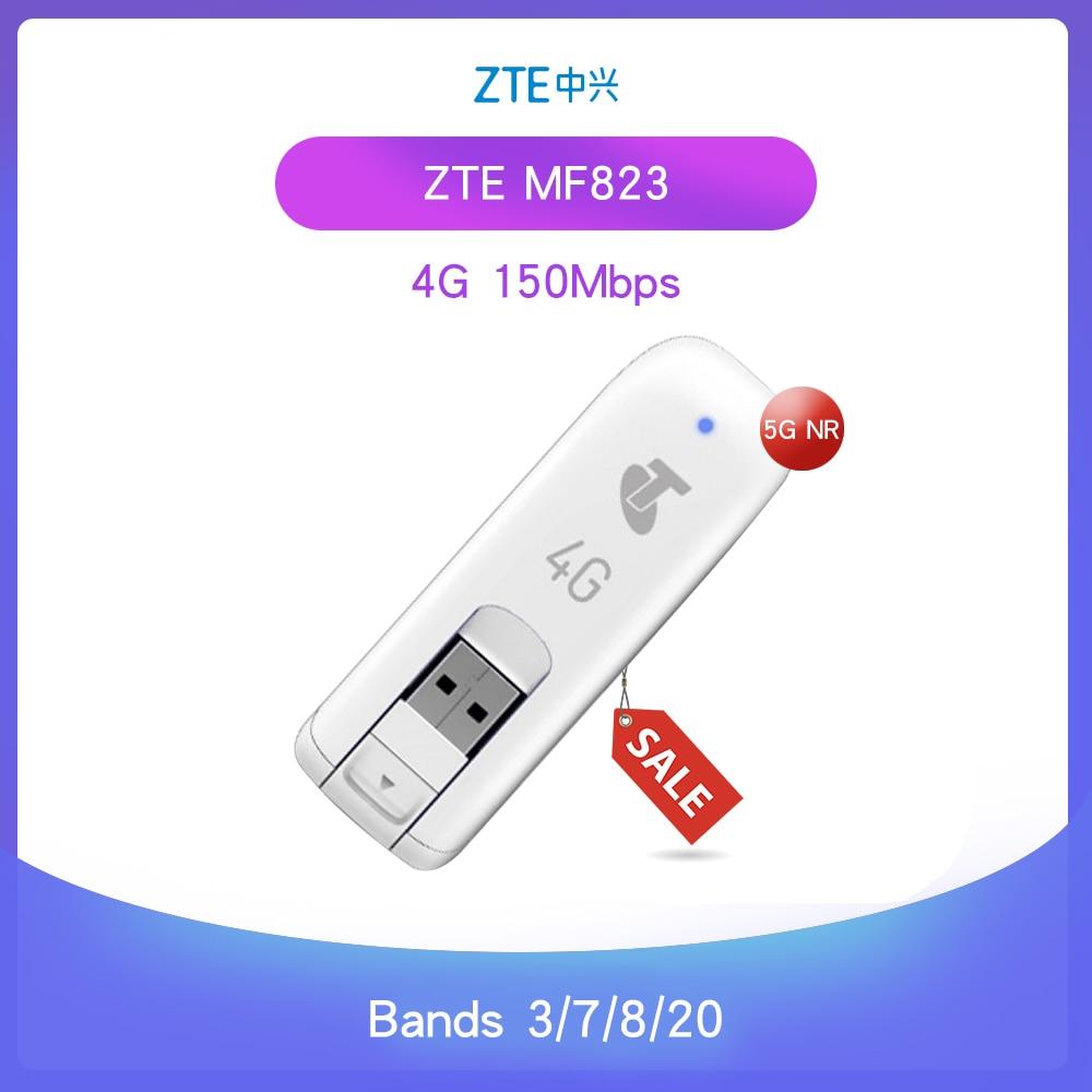 Entsperrt ZTE MF823 4G LTE Wireless Modem USB Stick Dongle Daten Karte Mobile Broadband 100mbs 4G Hotspot