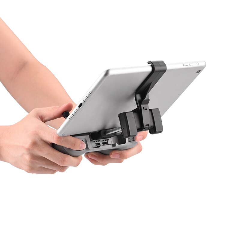 Remote Control Tablet Extended Bracket Mount for DJI Mavic Air 2/Mini 2 Accessories Transmitter Clip Holder Stand for ipad mini