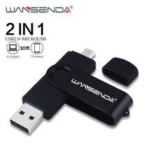 Clé USB WANSENDA OTG 128 go lecteur de stylo 16 go 32 go 64 go 256 go clé USB double clé USB pour Smartphone/PC Android