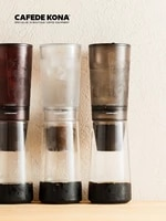 cold brew coffee maker ice dripper coffee pot precise finish exquisite cold brew small slow drip brewer 600ml