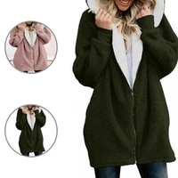 thick casual mid length hooded women coat for holiday winter coat thick casual mid length hooded women coat for holiday
