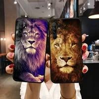 lion alpha male phone case for xiaomi redmi 5 5a plus 7a 8 note 2 3 4 5 5a 6 7 go k20 a2