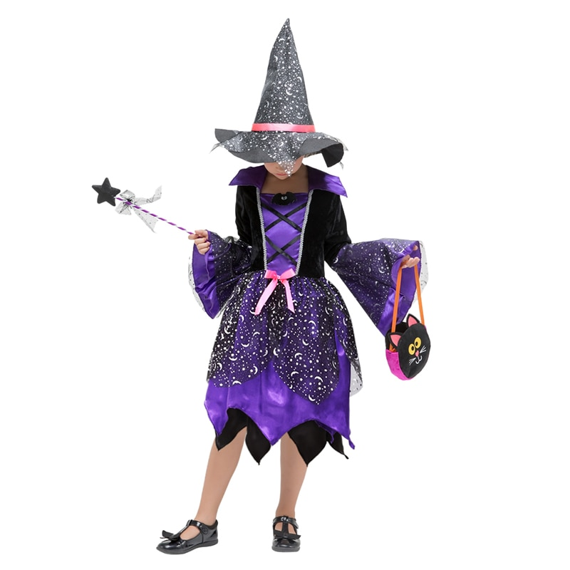 Anime cosplay clothes Witch costumes kids Identity V Cosplay Halloween Costumes For Children'S Suits Cosplay Mujer Role-Playing недорого