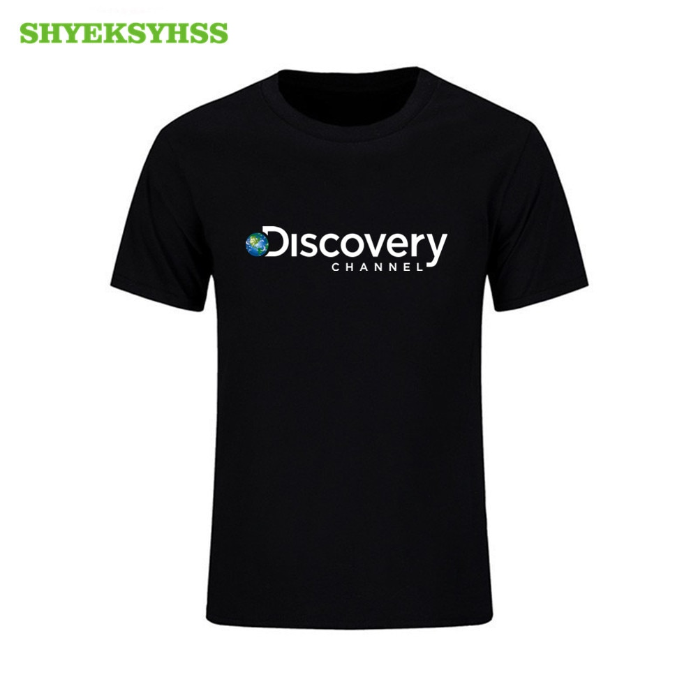 Hot Sale Men's Summer 100% Cotton T Shirt Cool National Geographic Discovery Channel T-shirt Men's Women's O-neck Short Sleeve