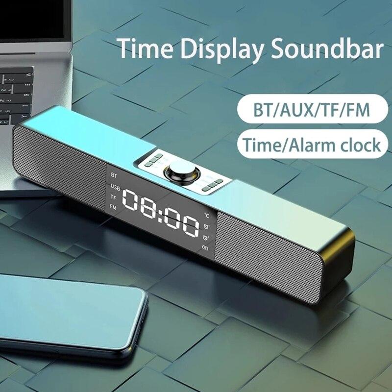 AliExpress - 2021 New Speakers Fashion Sound Bar Aux Usb Bluetooth Speaker Home Theater Surround Soundbar Voor Tv Computer Speaker Subwoofer