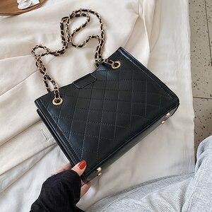 Small Chain PU Leather Crossbody Bags For Women 2021 Shoulder Handbags Female Travel Fashion Cross Body Bag Hand Bag