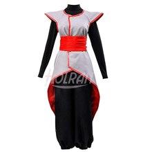 Dragon Ball Cosplay Halloween Dress Super Son Goku Black Kai Zamasu Merged Potara Uniform  Halloween Party Dress Costume