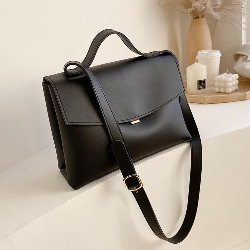 Vintage Fashion Female Tote Bag 2020 New High Quality PU Leather Women's Designer Handbag High capacity Shoulder Messenger Bag