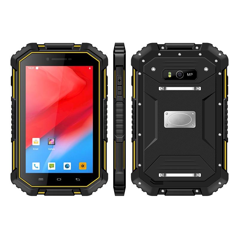 UNIWA HV3IP67 Waterproof Smartphone 7.0 Inch FHD Android 9.0 4GB RAM 64GB ROM NFC Mobile Phone 13MP 8000mAh Battery Cellphone