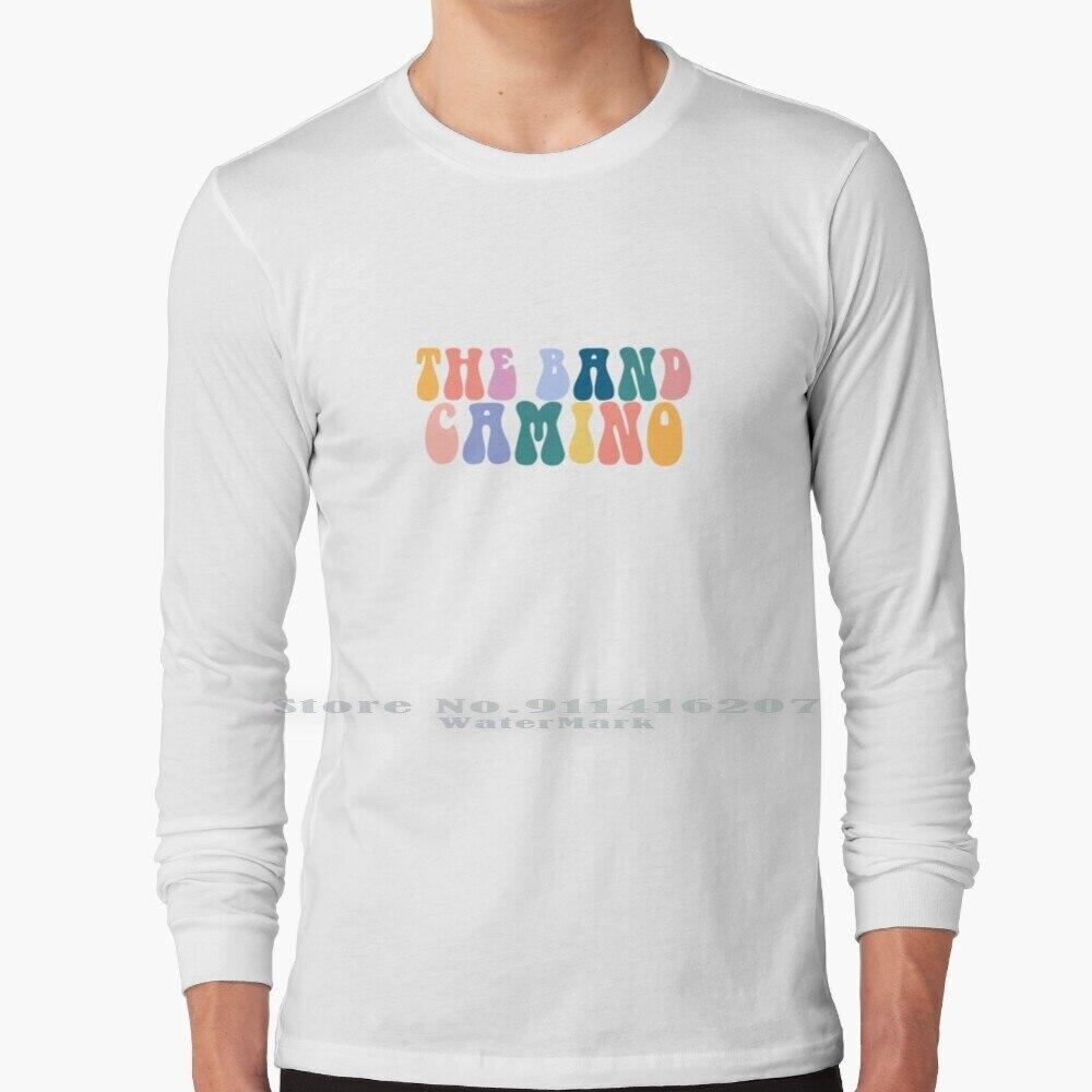 The Band Camino Vibes T Shirt 100% Pure Cotton The Band Camino Thebandcamino 2 14 Daphne Blue See Through Less Than I Do My