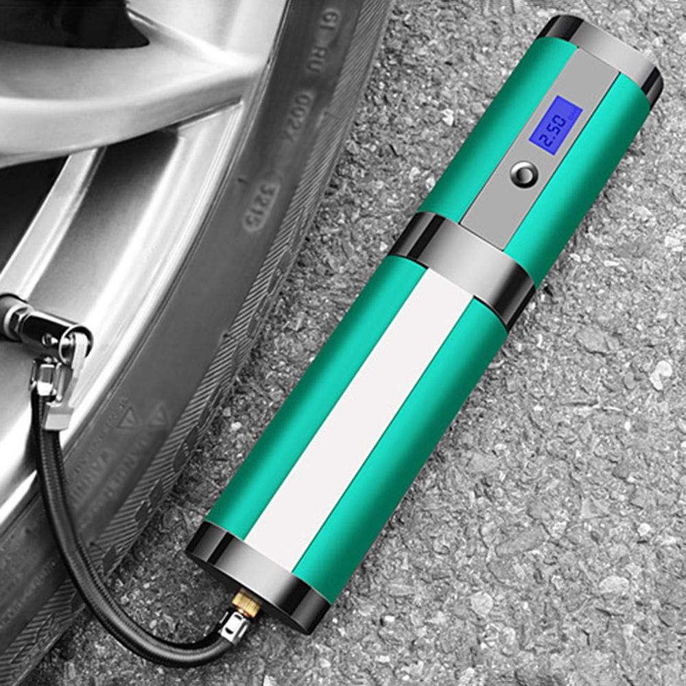 Bomba de aire inteligente portátil 4 Led columna para lámpara bomba de aire 120W carga inalámbrica alta potencia luz Digital neumático bomba de aire