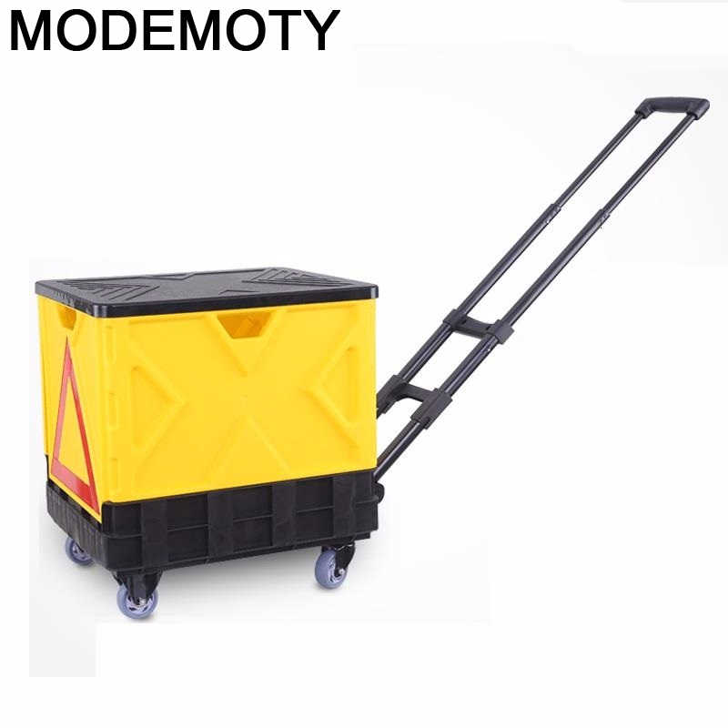 Carro Plegable De Cocina, Carro De almacenamiento para la mesa De carrito