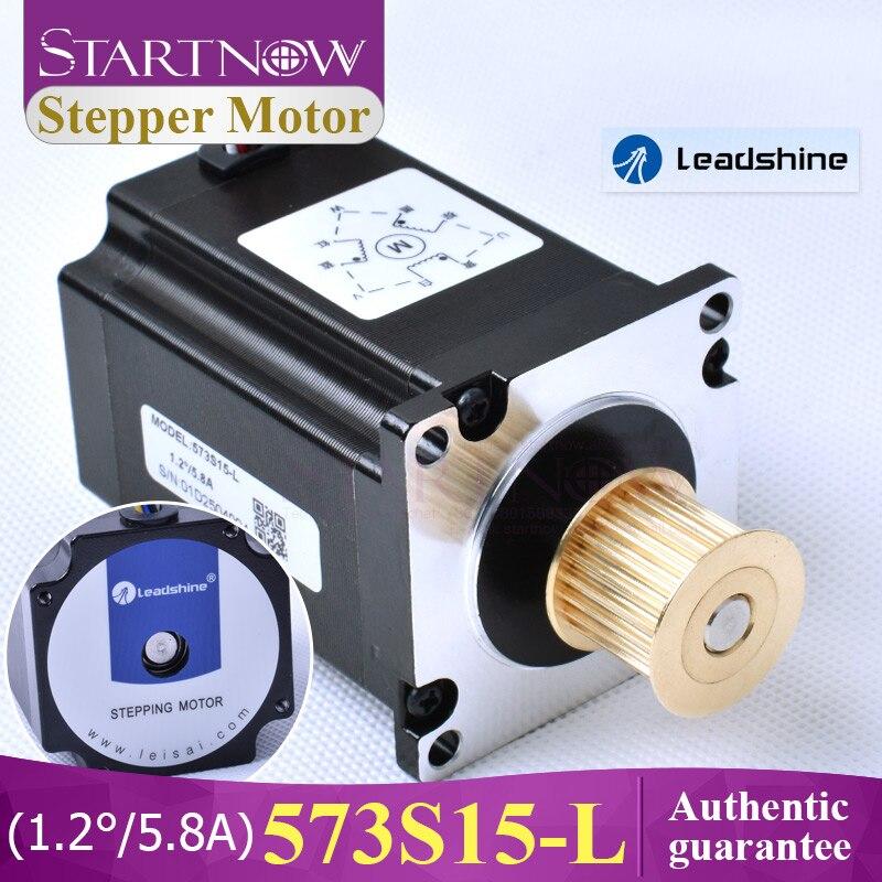 Startnow leadshine 3 fase motor deslizante 573s15 para nema23