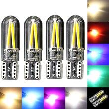 Neue 4 stücke 12v Nicht polarität Canbus T10 led-lampen W5W LED 194 192 168 Lampe Warm Weiß Kristall eis Blau Grün Rot Rosa Auto Auto