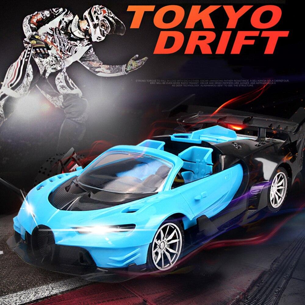 118 rc carro 27mhz rádio controle remoto deriva veículos esportivos elétrico modelos de carros de controle remoto brinquedos para crianças meninos rc010