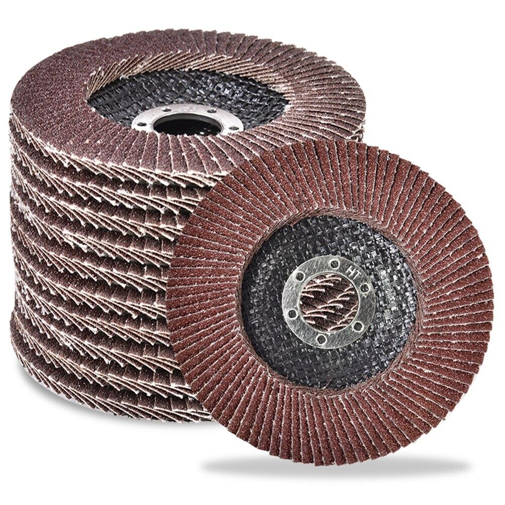 10 шт., абразивные шлифовальные круги для угловой шлифовальной машины