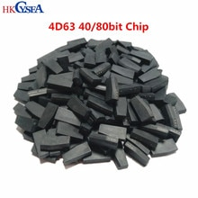 HKCYSEA 10/50/100pcs, alta qualità! 4D63 40/80bit ID63 ID83 TP33 Chip Transponder ceramico vuoto per chiave auto Ford Mazda Lincoln