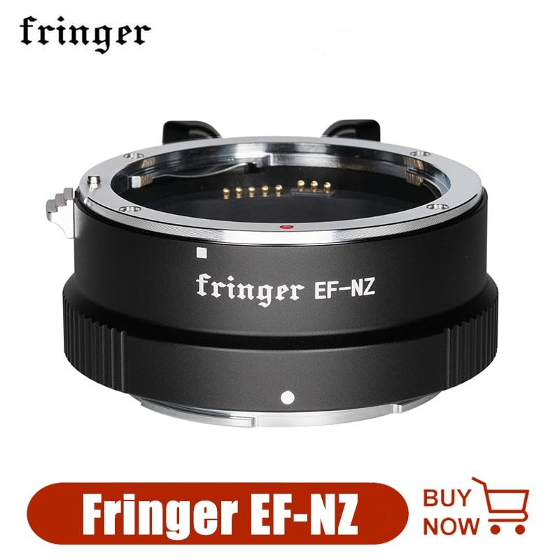 Fringer EF-NZ محول جبل لكانون EF/EF-S عدسة إلى نيكون Z جبل كاميرا كاميرا محول العدسة الدائري ل z6 Z7 Z50 Z5