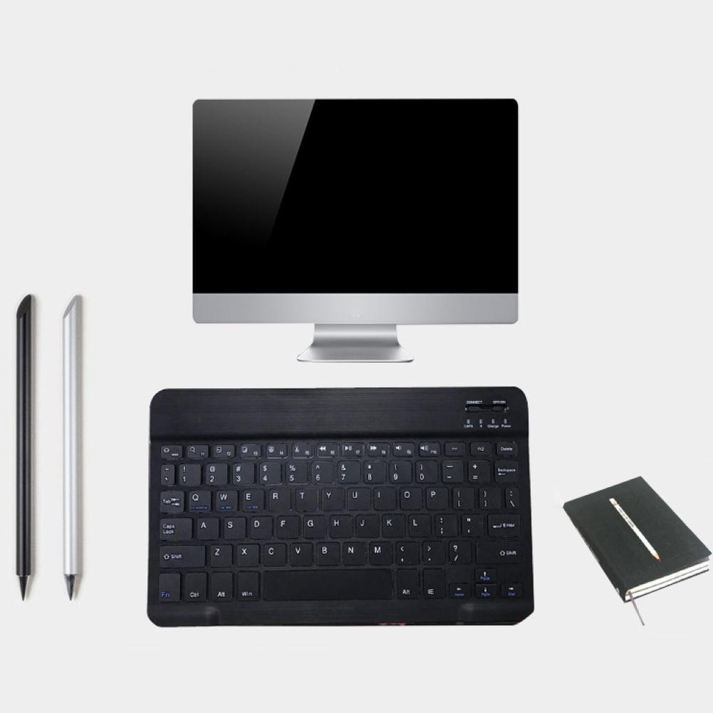 Mini keyboard 78 Keys Ultra-thin Bluetooth Wireless Keyboard Keypads For iPad Phone Tablet Keyboard Gaming Keyboards