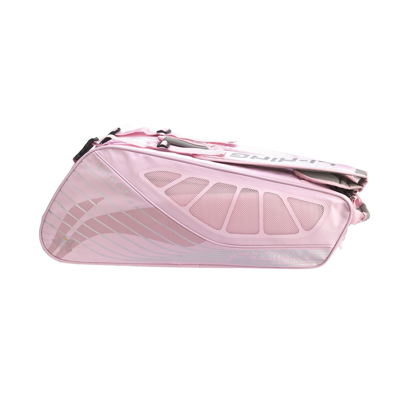 Badminton Bag Dragon Sponsorship 6-Piece Racket Storage Bag with Shoe Compartments Abjp082