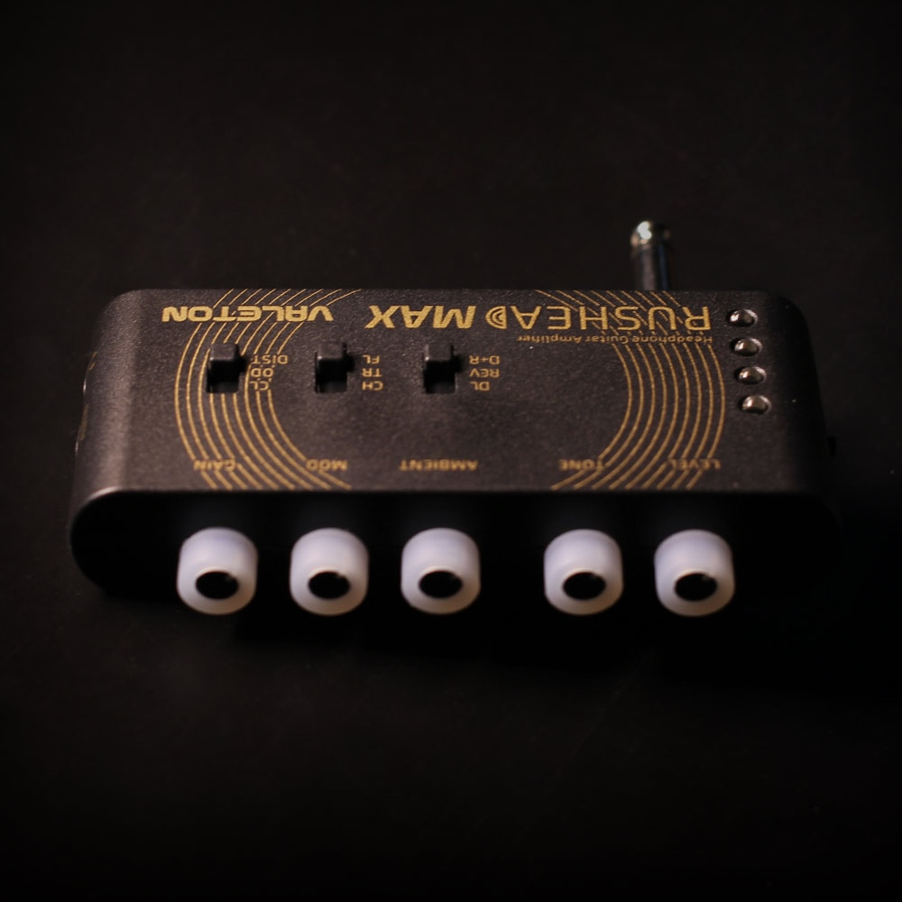 Valeton Rushead Max USB аккумуляторная портативная карманная гитарная Бас-гарнитура для наушников с усилителем для переноски в спальню, подключаемый к многофункциональным RH-100