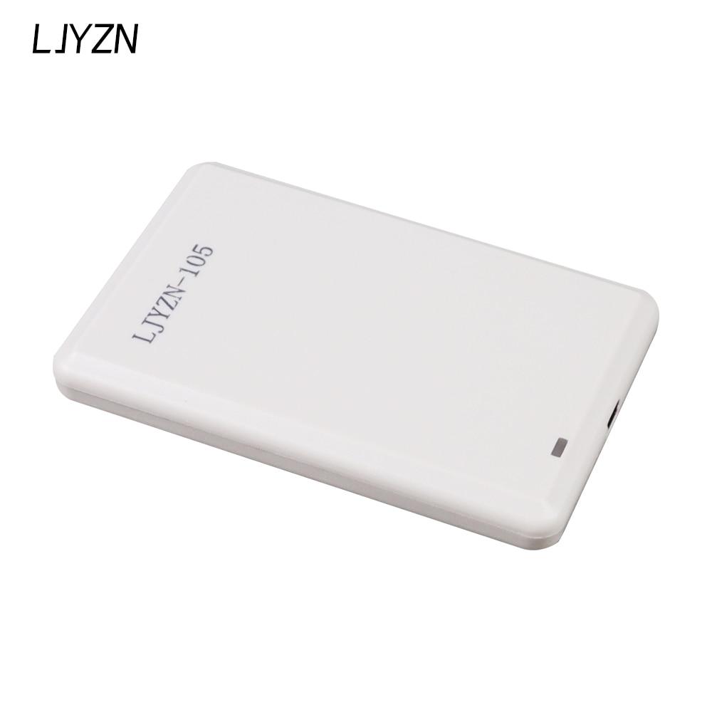 LJYZN ISO18000 860Mhz ~ 960Mhz RFID قارئ الكاتب مع التشفير مبرمج شحن SDK التجريبي البرمجيات بطاقة علامة