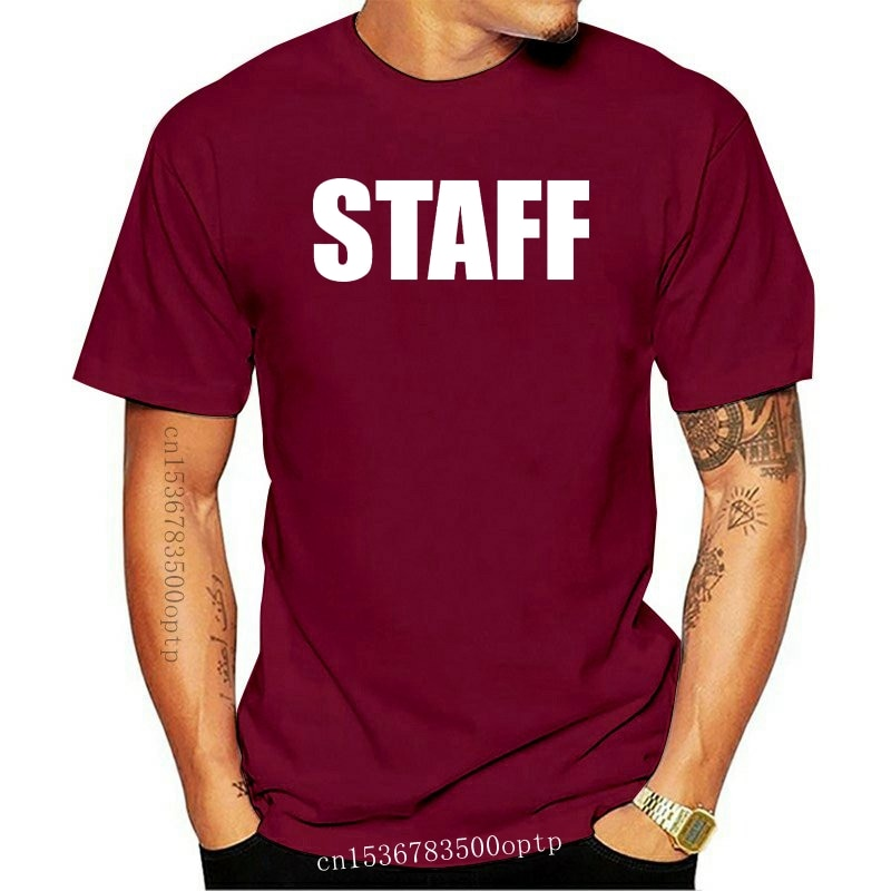 New Staff Business Concert Event Production Show Band Staff T Shirt