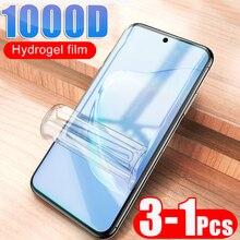 1000D Гидрогелевая мягкая пленка для Samsung Galaxy S9 S8 S10 Plus S10E Note 8 9 10 Полная защита экрана Samsung A50 A51 не стеклянная пленка