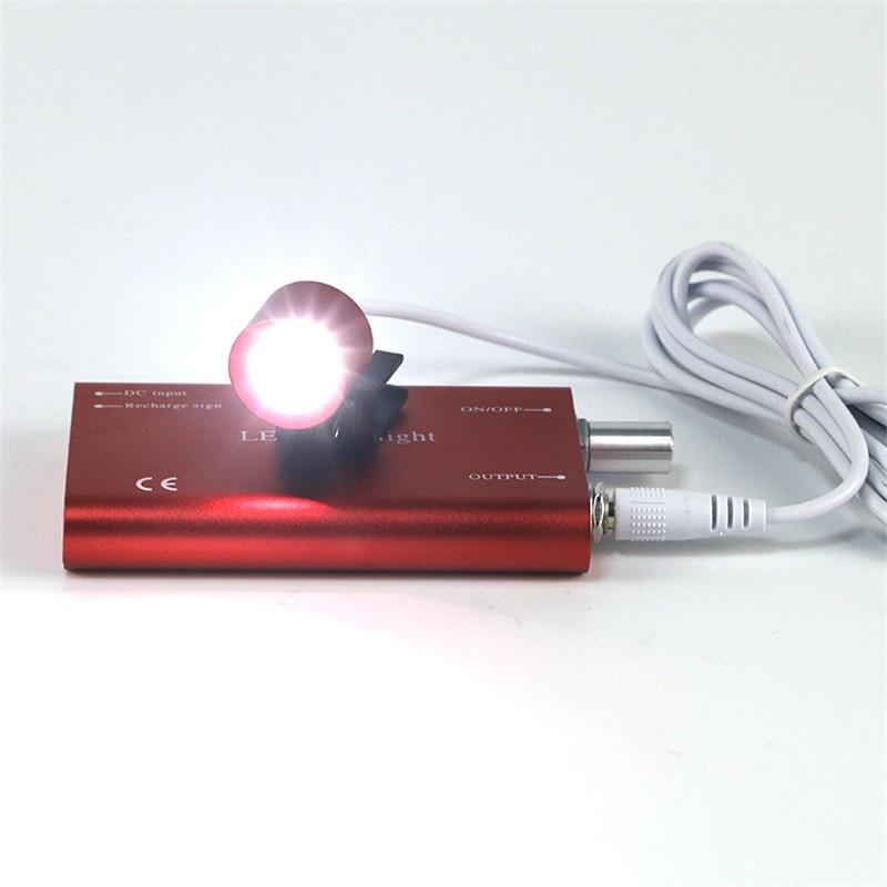 10pcs Medical Headlamp LED Head Light Dental Surgical Headlight  Rechargeable Battery enlarge