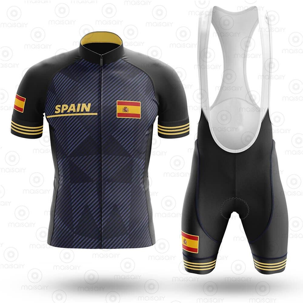 Raphaful-traje de ciclismo para el verano, nuevo equipo profesional español, camiseta de manga corta transpirable para hombre