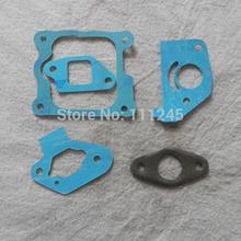 GXH50 jeu de joints pour HONDA GXV50 49CC mélangeur CARB isolant silencieux carburateur filtre à AIR couvercle de la soupape dadmission KIT de 5 pièces