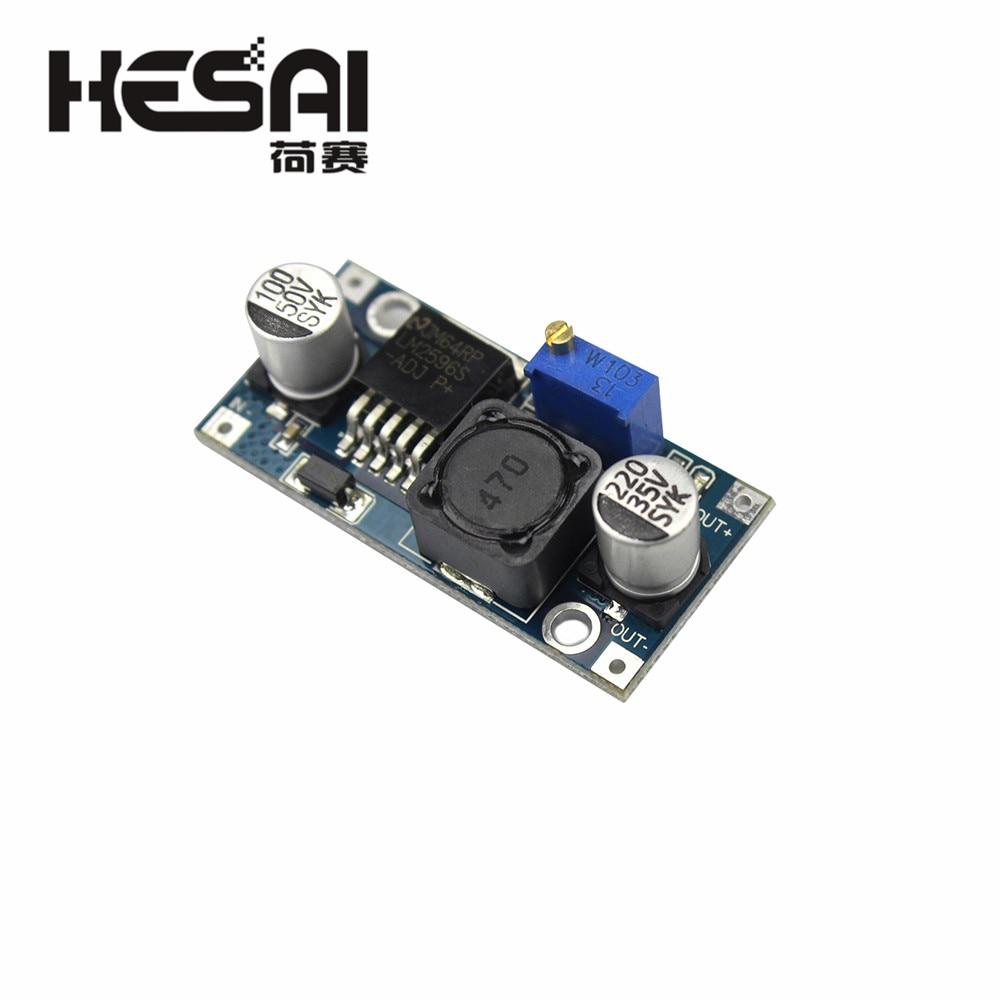 Smart Elektronik lm2596 LM2596S DC-DC 3-40V Einstellbar Step-down Power Supply Module Spannung Regler 3A