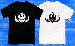 Nova gurren lagann anime cartoon tv série logotipo dos homens camiseta tamanho s a 2xl design engraçado camiseta