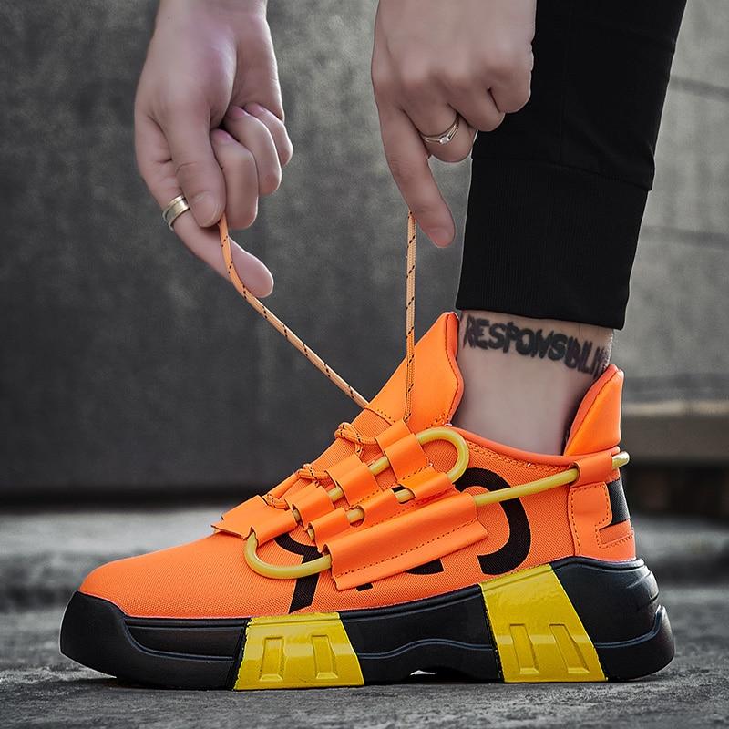 Zapatillas deportivas informales para hombre, para exterior, caminar, trotar, 8 colores brillantes,...