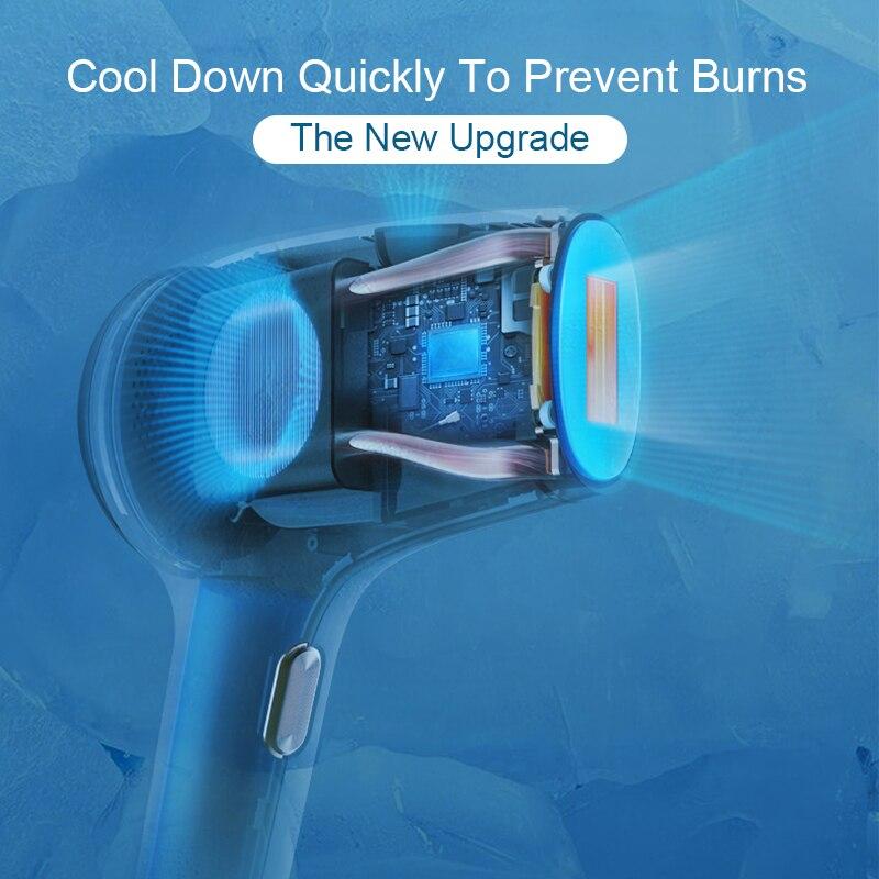 AmazeFan 990000 Flashes Photoepilator IPL Hair Removal Ice Laser Epilator Permanent Painless Home Epilator enlarge