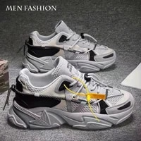 couples sneakers spring new sports white shoes trendy fashion all match casual shoes men fashion sneakers platform shoes
