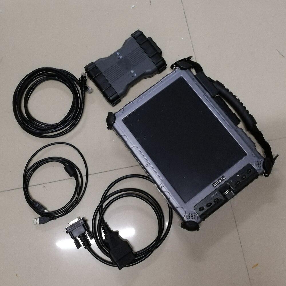 Mb star c6 ssd vci herramienta de diagnóstico CAN DOIP protocolo software última versión laptop xplore ix104 c5 i7 tablet listo para usar
