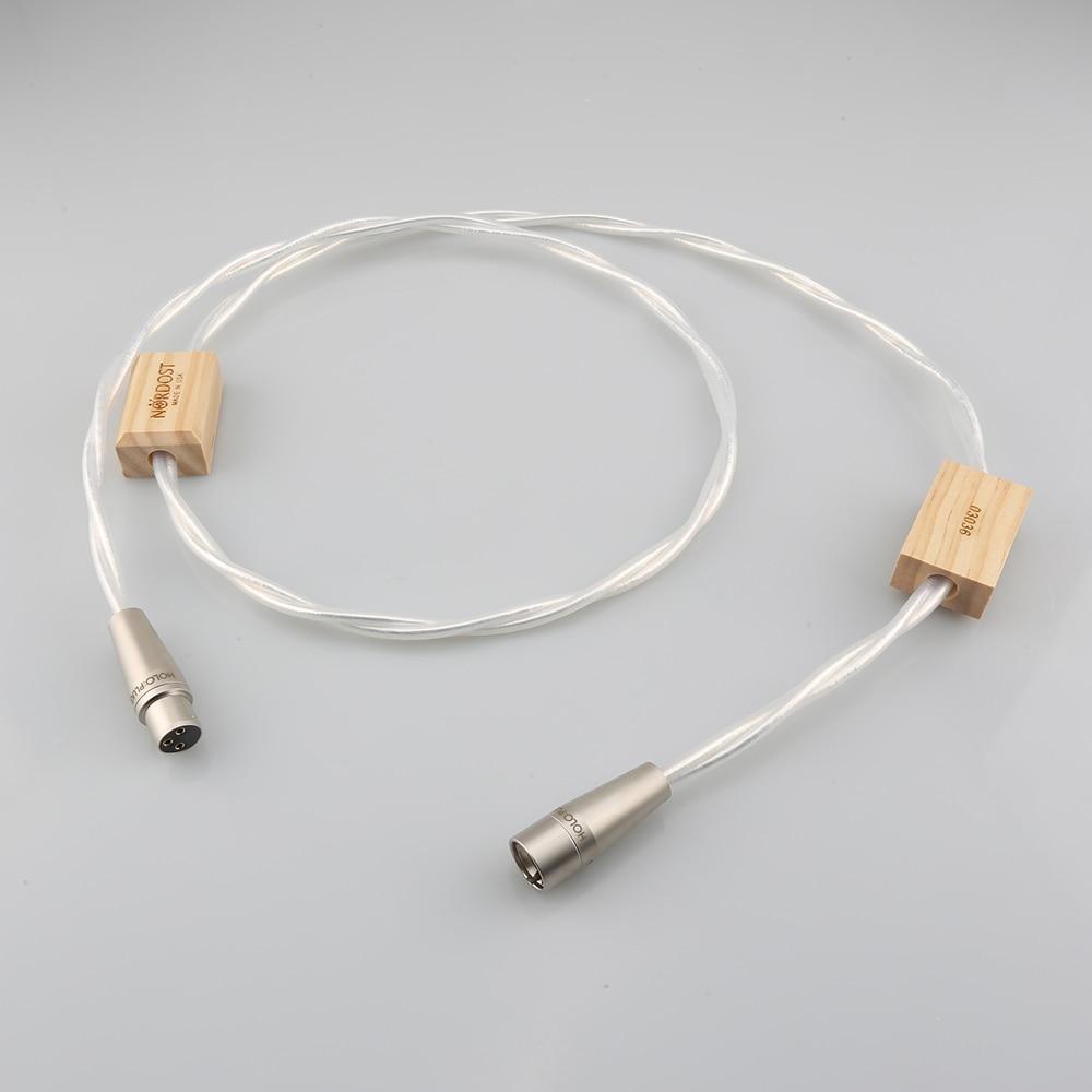 عالية الجودة Nordost Odin 2 110Ohm XLR التوصيل التوازن محوري الرقمية AES/EBU كابل الربط