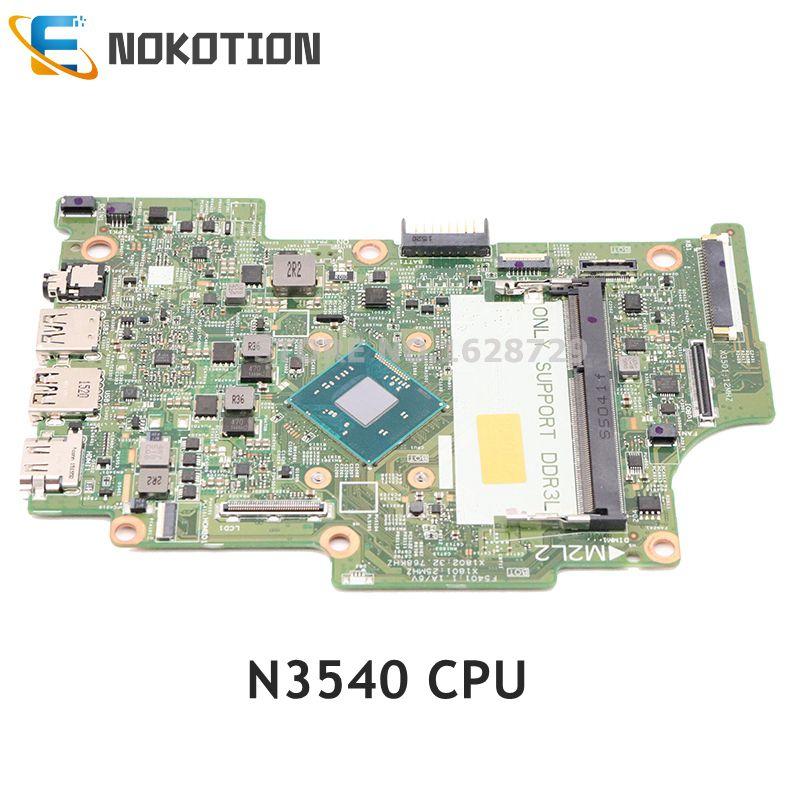 NOKOTION CN-0KW8RD KW8RD 0KW8RD لديل انسبايرون 11 3147 اللوحة المحمول 13270-1 WFH9R DDR3L SR1YW N3540 وحدة المعالجة المركزية