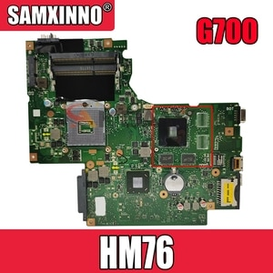 REV.2.0 Laptop motherboard For LENOVO G700 HM76 Mainboard SLJ8E N14M-GE-B-A2 11SN0B5M11 11S90003042 DDR3