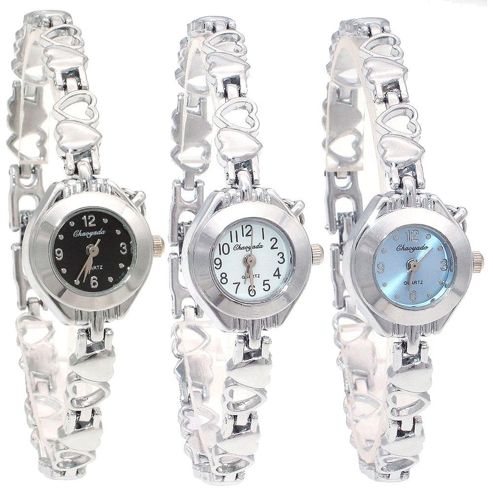 10PCS/Lot Mixed Bulk Cute Watch Women Watches Ladies Women Girls Silver Watch Stainless Steel Quartz Dress Wristwatch Gifts enlarge