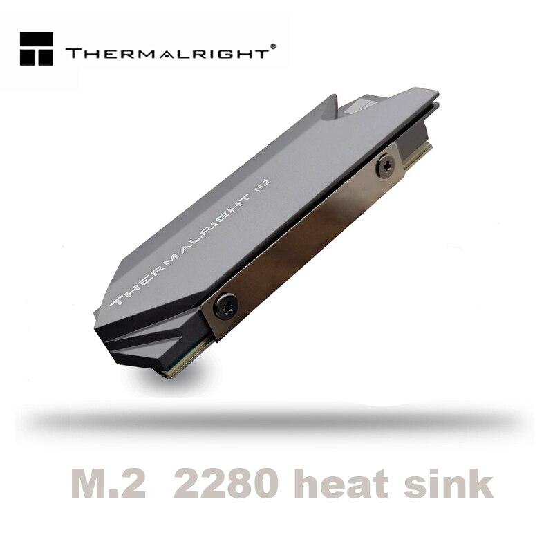 Thermalright disipador de calor de aluminio M.2 enfriador de calor disipador térmico almohadillas térmicas para disco duro NGFF NVME PCIE 2280 SSD