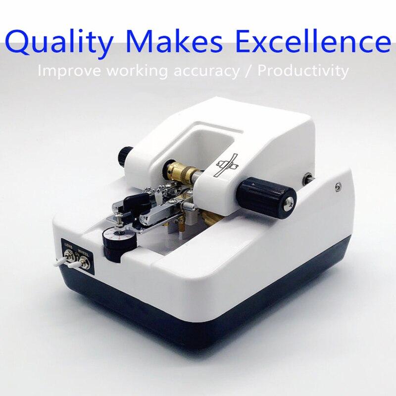Eyewear Shop Equipment Half Frame Lens Wire Drawing Machine Stainless Steel Processing Machine Eyeglass Slotting Machine