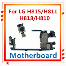 Unlocked Voor Lg G4 H815/H811/H818/H810/F500L Moederbord 32 Gb Met Chips Moederbord Vervangen mb Back Camera Voor Lg G4 Logic Board
