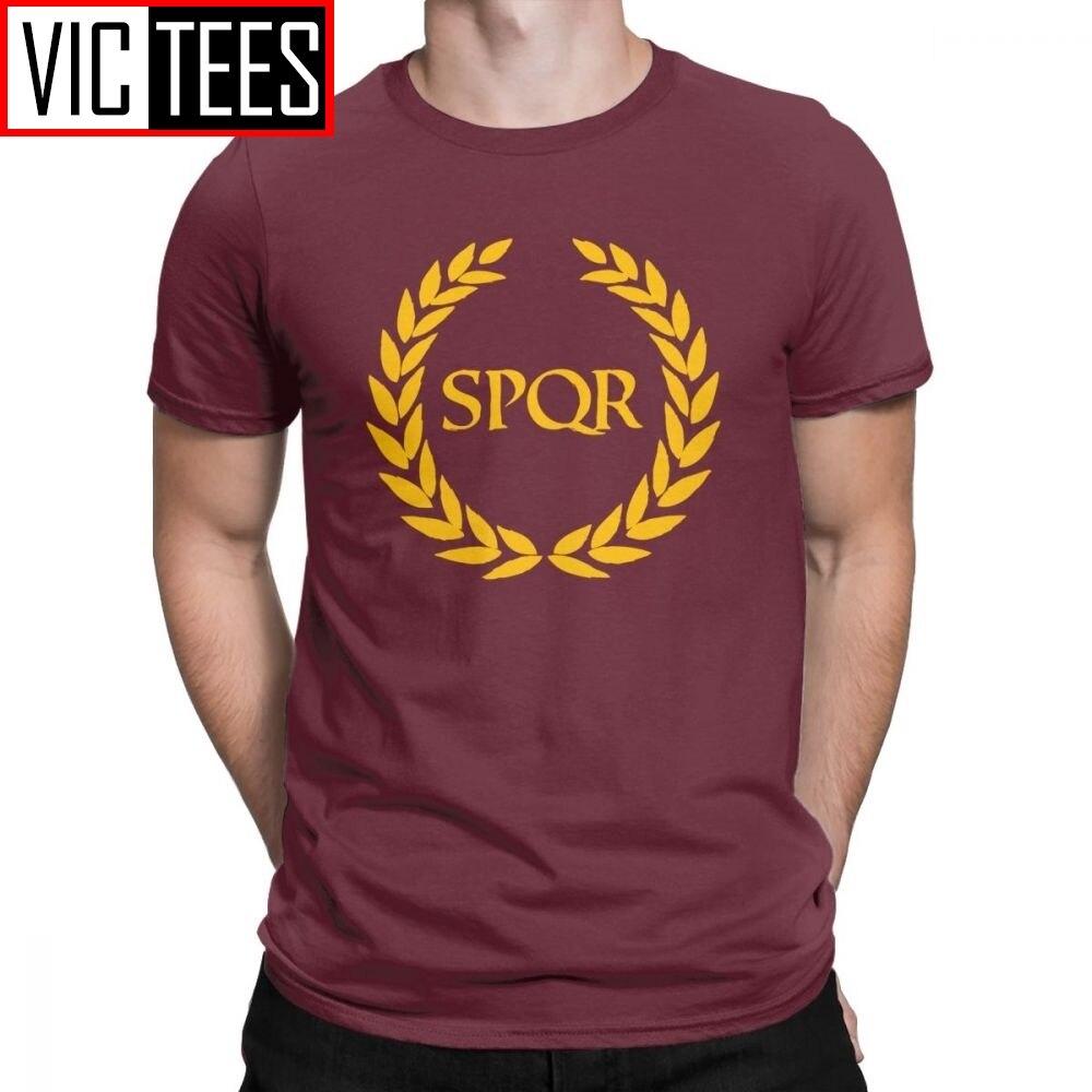 "Мужская футболка Camp Jupiter ""SPQR"" annbeth Chase annbeth Percy Jackson, новая мужская футболка в римском стиле, хипстерские футболки из чистого хлопка"