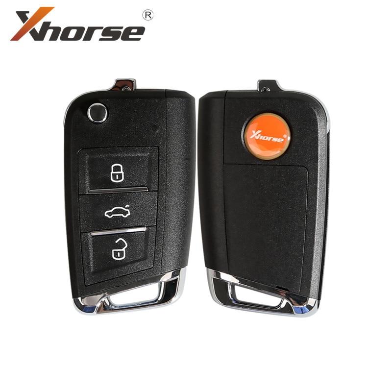 Xhorse XSMQB1EN VVDI الذكية مفتاح التحكم عن بعد MQB نوع 3 أزرار ل VVDI2 VVDI مفتاح أداة 5 قطعة/الوحدة