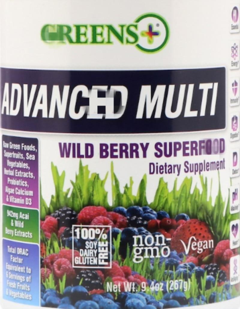 9,4 onzas de polvo, Acai de frutas y verduras verdes y extracto...