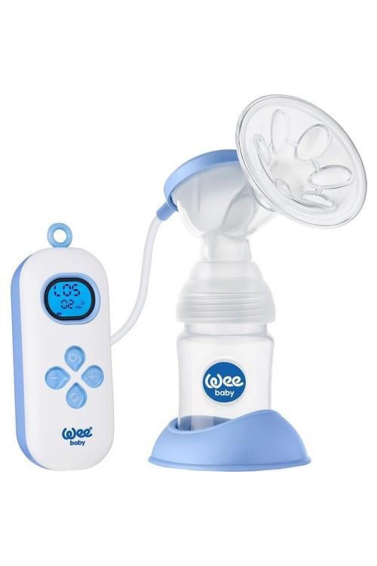 Wee baby Ultra portable rechargeable single breast pump