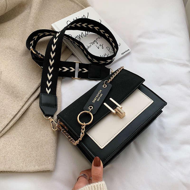Ladies Clutches Women Korean Style Shopping Bag Sling Bag Shoulder Bag Black Fashion Leather Tote Bag Bolsas Feminina