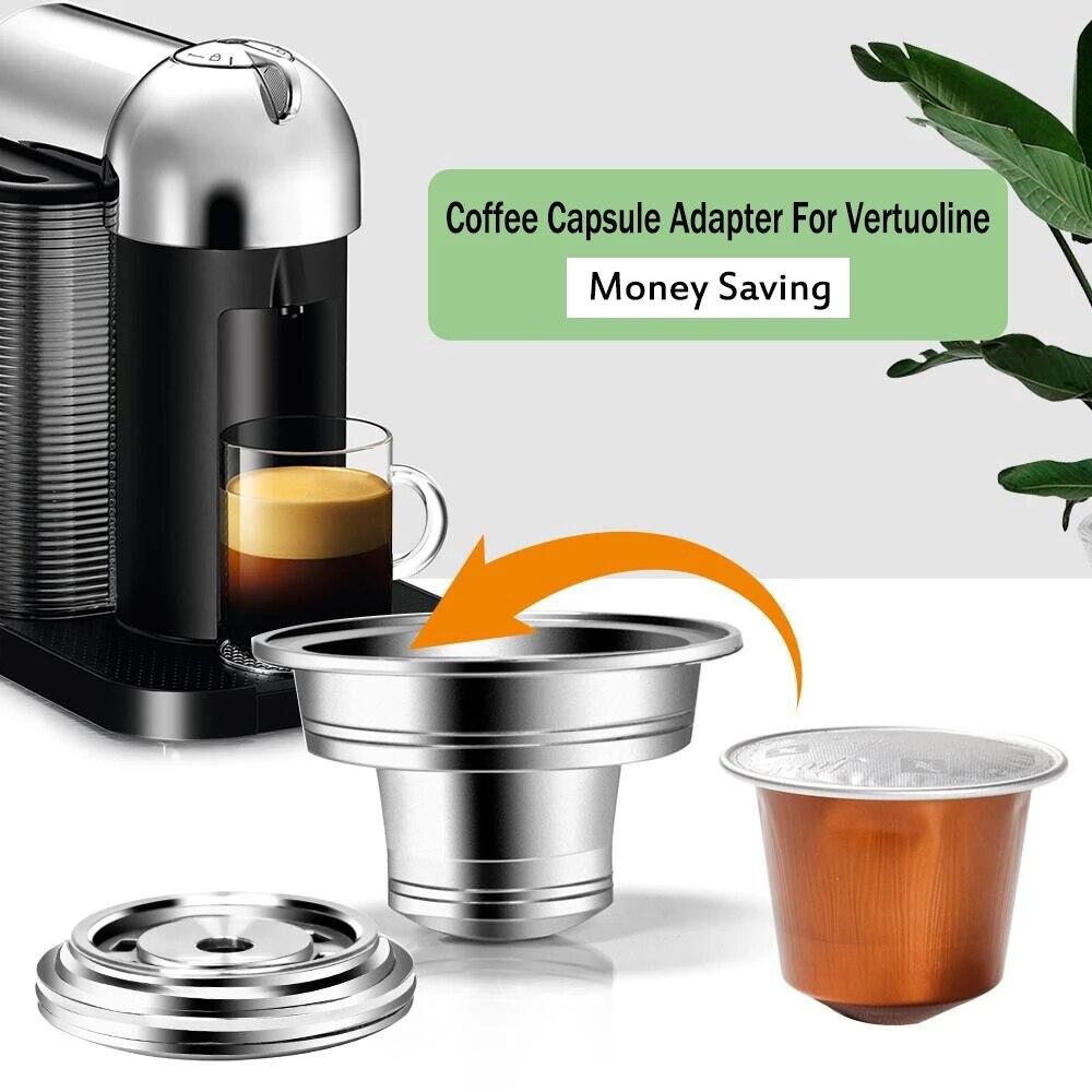 محول كبسولة لماكينة قهوة نسبرسو ، محول أصلي ، فتح عن مذاقات إضافية